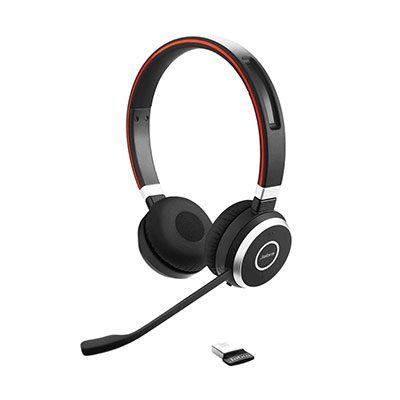 Jabra Evolve 65 Headset w/Charging Station